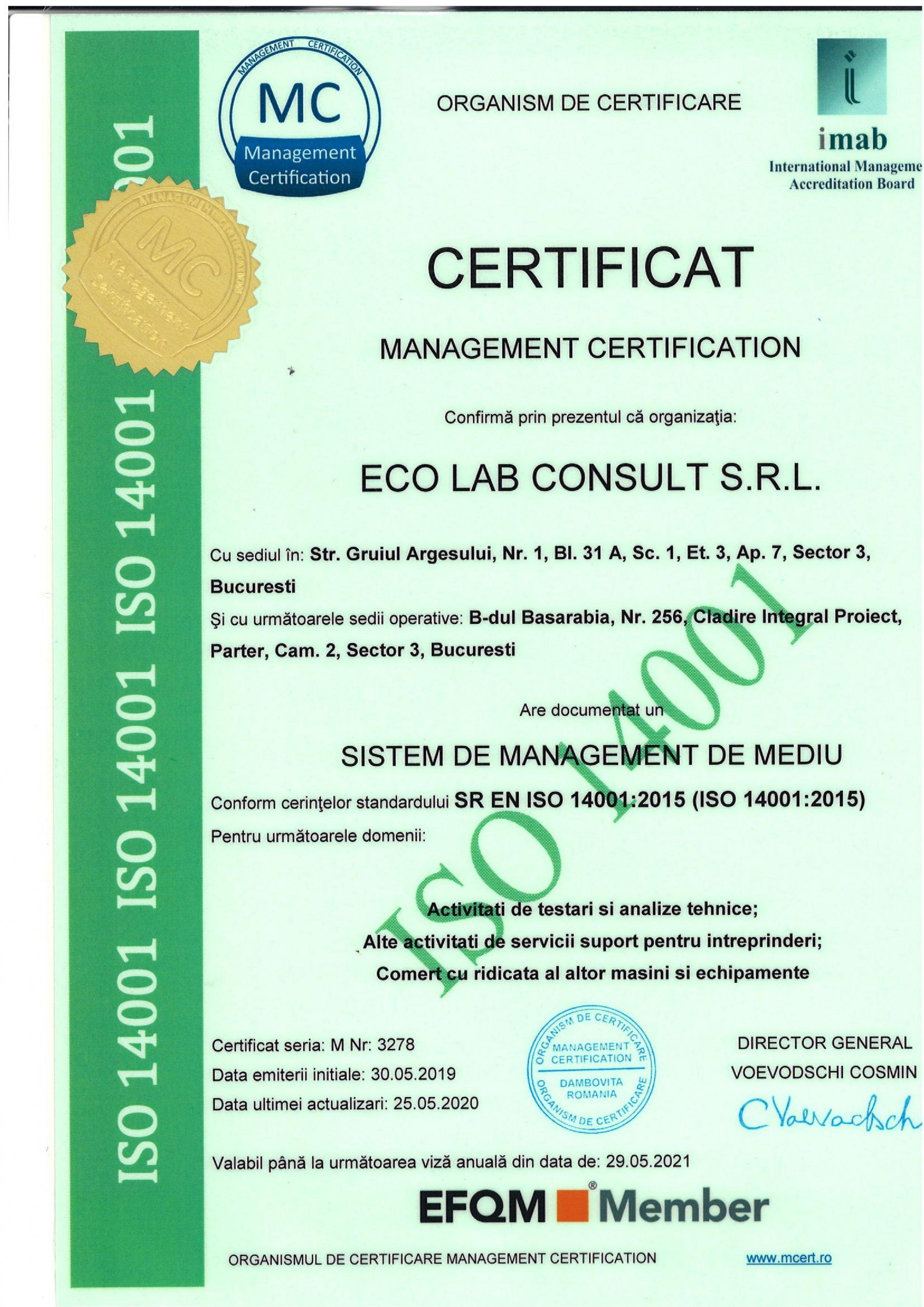 Certificări